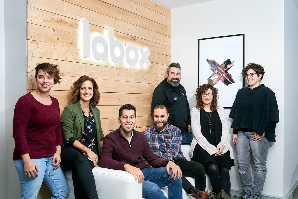 El equipo de Labox Marketing y comunicación al completo