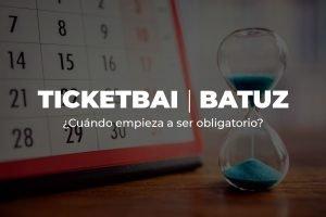 Calendario TicketBAI Batuz