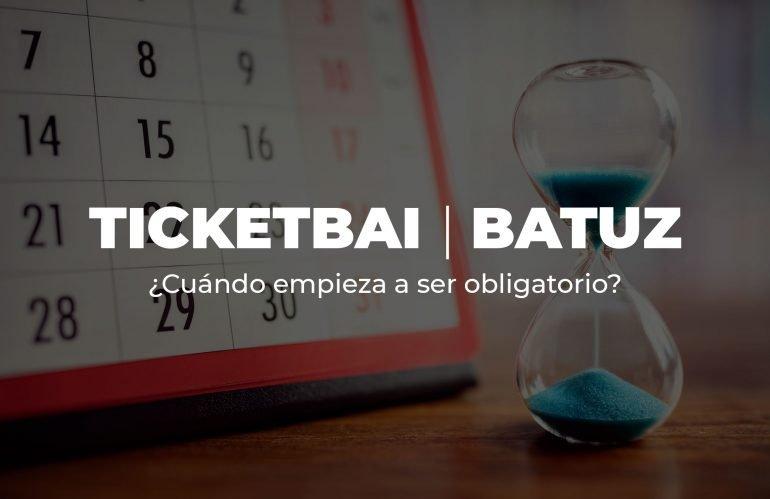 Nuevo calendario para la implementación de TicketBAI e incentivos fiscales